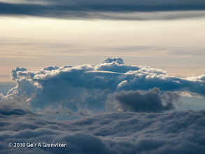 Photo: Clouds over Nordland, Norway