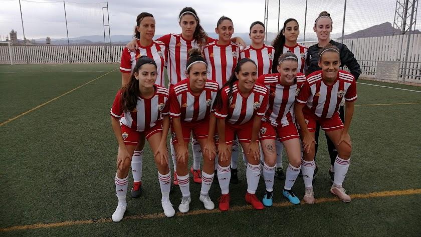 Las chicas del Almería están en un gran momento.