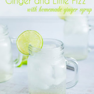 Ginger Syrup Drinks Recipes