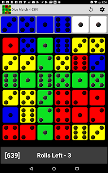 Dice Match Bingo apk screenshot