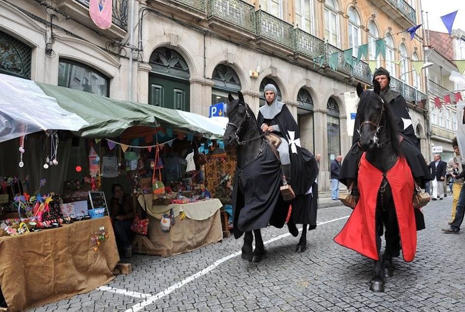 AVISO - Feira Medieval de Lamego altera circulação automóvel na zona alta da cidade