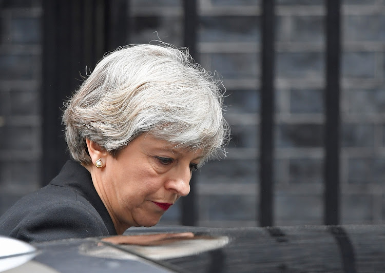 Britain's Prime Minister Theresa May. Picture: REUTERS