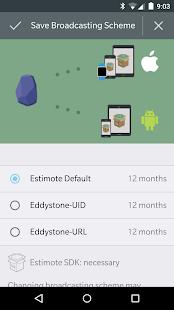 Estimote - screenshot thumbnail