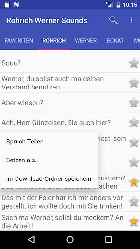 Ru00f6hrich Werner Soundboard 1.08 screenshots 4