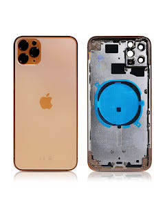 iPhone 11 Pro Max Housing without small parts HQ Gold