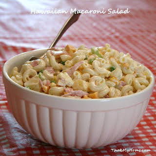 Hawaiian Macaroni Salad.