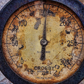 Pressure Gauge by Ferdinand Ludo - Products & Objects Industrial Objects ( vintage, steam pressure gauge, in working order, time scars,  )