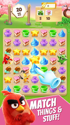 Angry Birds Match screenshot 1