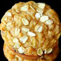 Apple Raisin Oat Muffins Whole Grain Baking Recipe icon