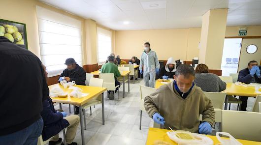 El Centro de Acogida atiende a casi 200 personas durante la crisis sanitaria