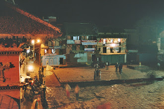 Photo: Abendstimmung in Bhaktapur
