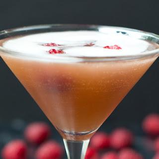 Sparkling French Martini.