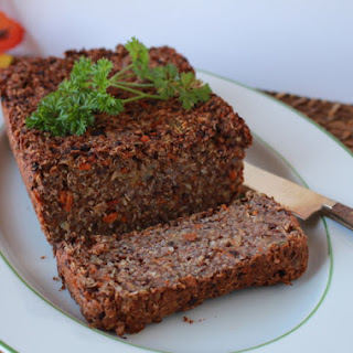 Black Bean and Quinoa Loaf
