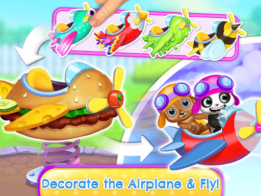 Panda Lu & Friends - Playground Fun with Baby Pets apkmr screenshots 23