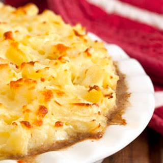 Turkey and Cauliflower Shepherd's Pie