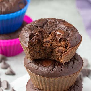 Chocolate Black Bean Blender Muffins.
