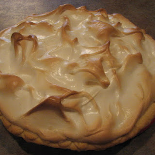 Butterscotch Pie with Meringue