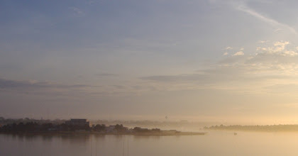 Photo: A morning fog that was slow to burn off...
