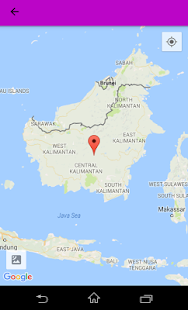 Indonesia map and Geography - náhled