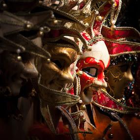 Masquerade by Johannes Schaffert - Artistic Objects Other Objects ( theatre, art, masks, czech, costume, mask, prag, praha, prague,  )