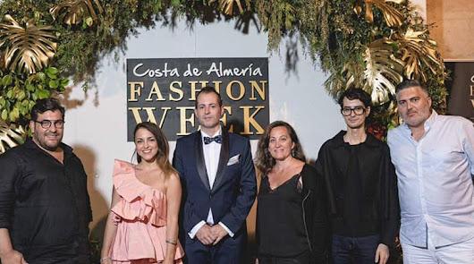El Cervantes en la Costa de Almería Fashion Week, celebrada este verano.