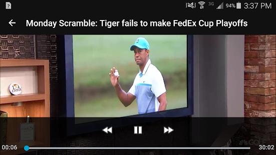 Golf Channel Mobile- screenshot thumbnail
