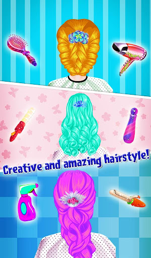 Princess Valentine Hair Style 1.0.2 screenshots 8