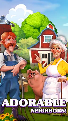 Happy Town Farm: Farming Game apkmr screenshots 5