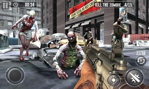 Zombie Hunter Game 2019 - Last Battle Survival  captures d'écran 1