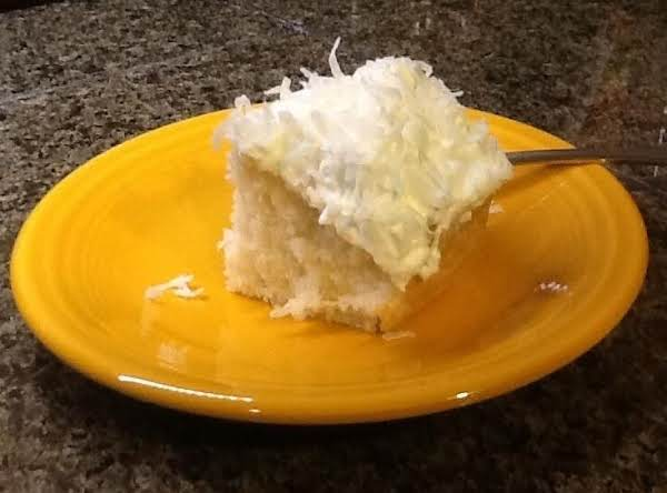 Cathy's Easy Coconut Cake Recipe