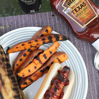 BBQ BACON-WRAPPED HOT DOGS