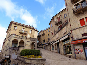 Photo: San Marino city - Piazza Garibaldi