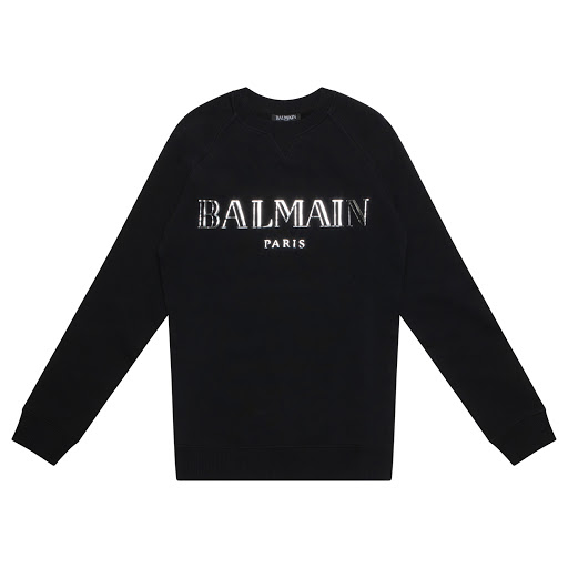 Primary image of Balmain Girls Cotton Sweatshirt