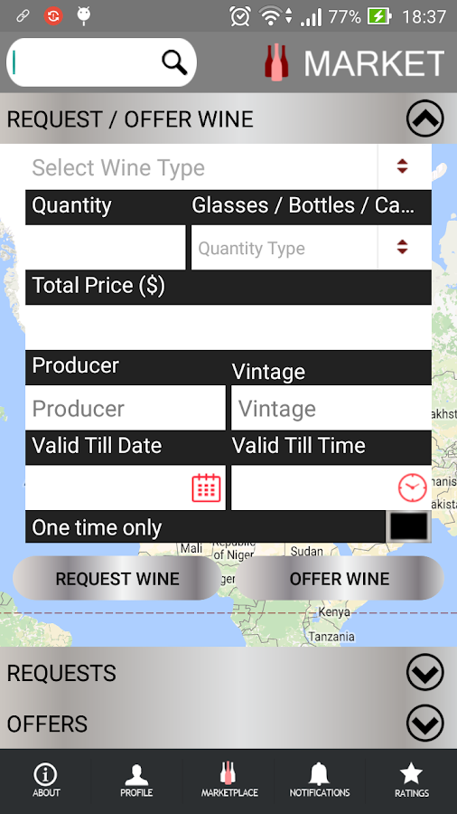 Wine Societies- screenshot
