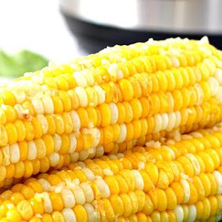 Instant Pot Garlic Parmesan Corn on the Cob.