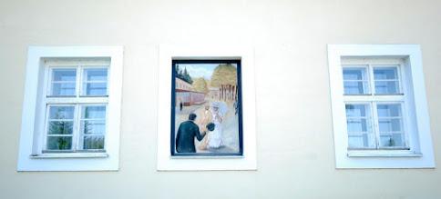 Photo: zamiast okna... malowidło
