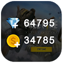 Guide for Free Fire - Diamonds Calculator Free icon
