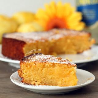Grain-free Italian Lemon Almond Cake (Torta Caprese Bianca)