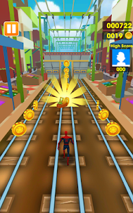 Subway Avengers Rush: Spiderman, Batman, Ironman- screenshot thumbnail
