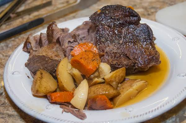 Beef Essentials: Salt & Pepper Bottom-round Roast Recipe