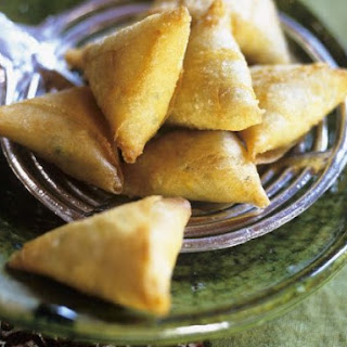Moroccan Triangle Pastries.