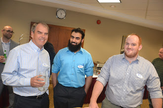 Photo: Ed Cassidy, Shayan Mirza, Jacob Hough