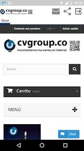 Store CVGroup - náhled