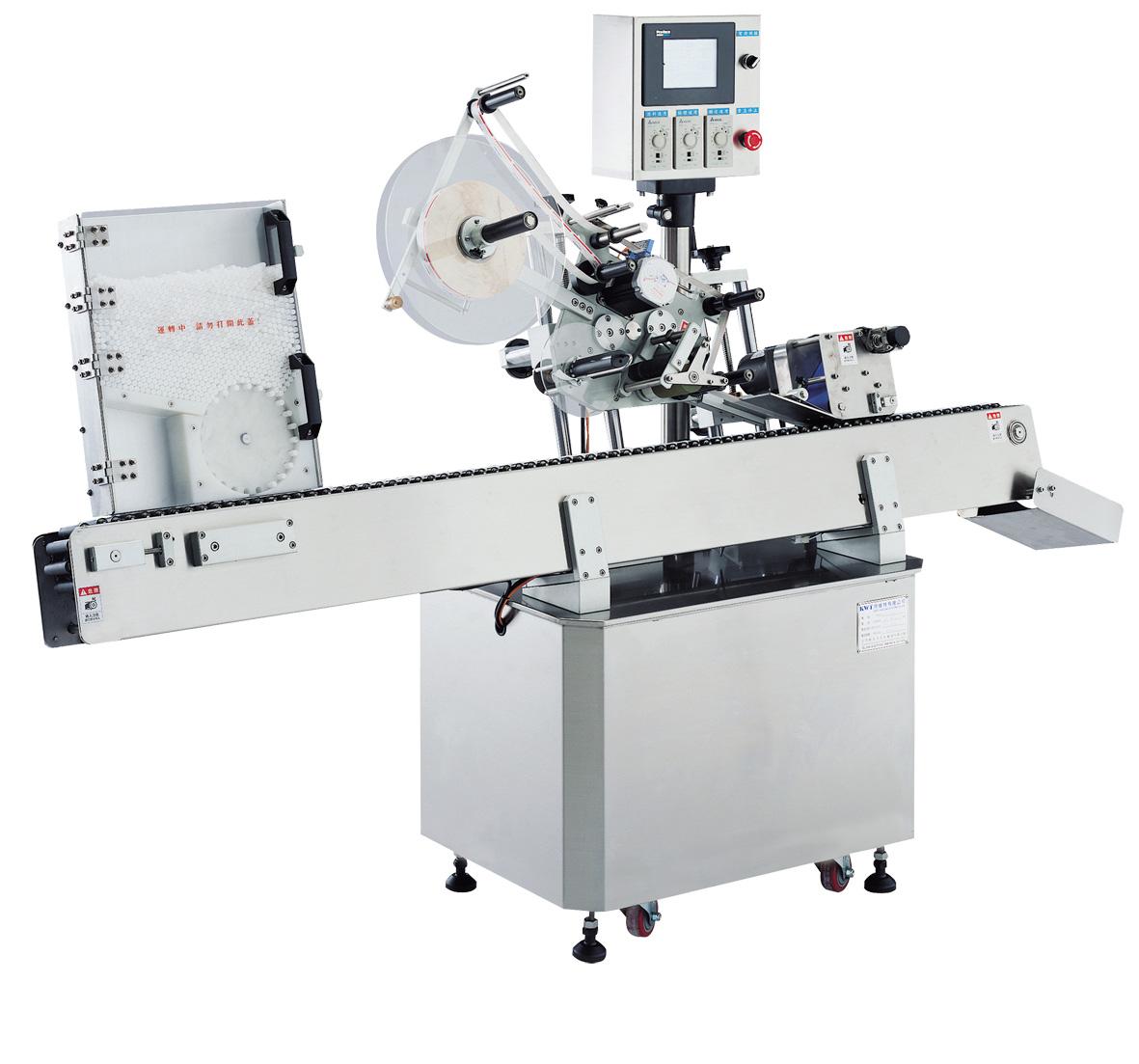 Máy dán nhãn tự động làm cho dây chuyền sản xuất được nhanh hơn