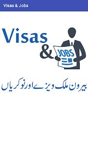 Visas & Jobs - náhled