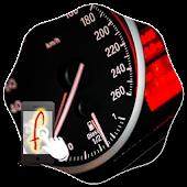 Gesture Lock Screen Car Race