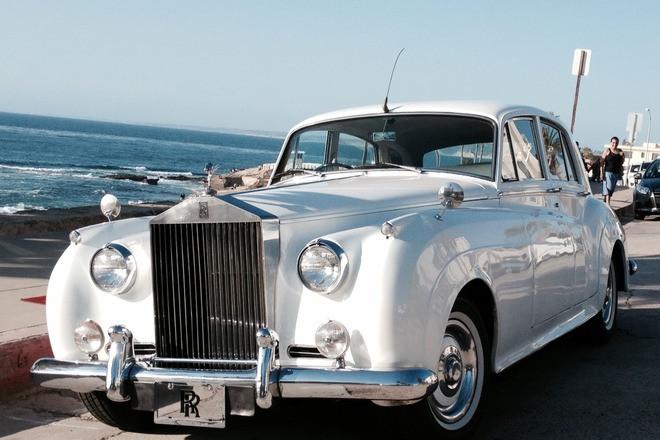 Rolls-Royce Wedding Car Hire CA