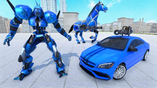 真馬機器人改造遊戲-機器人車3D