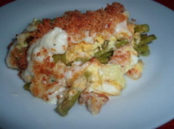 Asparagus Cheese Casserole Recipe