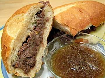 Easy Crock Pot French Dip